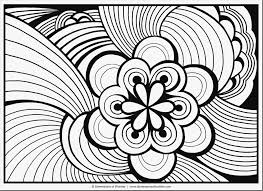 Free Collection Of 48 Simple Adult Coloring Pages Download