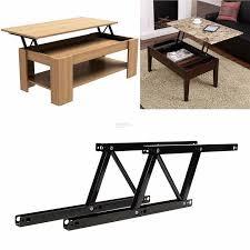 1pair lift up top coffee table lifting frame mechanism spring hinge ha