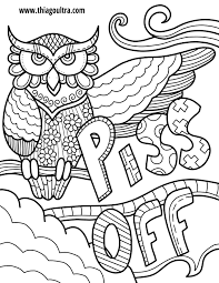 Challenge Free Printable Coloring Pages For Adults Only Swear Words