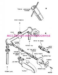 bathtub faucet parts 2 and 3 handle bath tub and shower faucet repair faucet care or