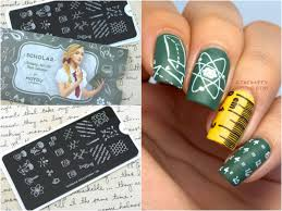 Back to School Nails Featuring MoYou London Scholar Collection ...