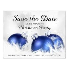 Christmas Party Save The Date Templates Custom Christmas Party Invitations 4 U