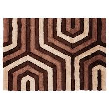 area rug stone brown 4 11 x 7