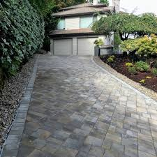 is a heated driveway snow melt system right for you? Radient Heat Driveway paver driveway in lake oswego with snow melt mats underneath