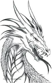 Flying Dragon Coloring Pages Printable How To Draw A Easy Free For