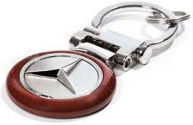 Black leather with red stitching and embossed amg logo. Amazon Com Mercedes Benz Burl Wood Finish Key Chain Genuine Product Automotive