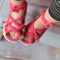 Crochet Baby Sandals Pattern Enchanting Crochet Baby Strap Flip Flop Sandals Whistle And Ivy
