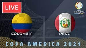 Colombia vs Peru LIVE / partita di ...