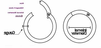 11 Gauge Earring Sizes Needlelovers To Gaugeor Not To