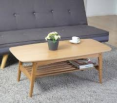 retro coffee table. Retro Coffee Table Wooden Scandinavian Living Room Furniture Oak Vintage Style