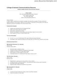 Cover Letter For Recent College Grad Recent College Graduate Resume Sample Student Cover Letter Example