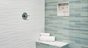glass wall tile installing glass tile on your bathroom