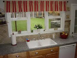 window treatment ideas for small kitchen sink bay window