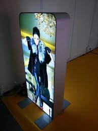 Led Light Box Display Stand EFL100 light boxesLED light panellight boxstand offs 70