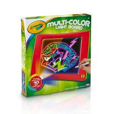 Amazon.com: Crayola, Multi-Color Light Board, Art Tools, Electronic ...
