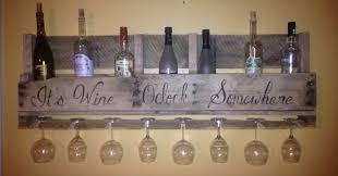 pallet wine rack. DIY Pallet Wine Rack H
