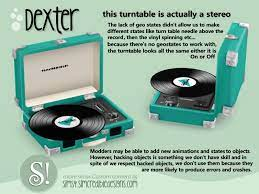 simcredible s dexter turntable