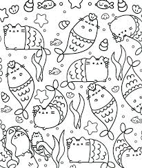 Coloring Pages Pusheen Coloring Pages That You Can Print Color To