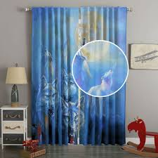 3d uv printing curtain panels howling