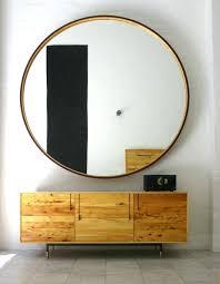 furniture leather round mirror leather mirror leather round 1 leather round mirror leather round mirror brown
