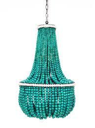 wood bead chandelier pendant lights