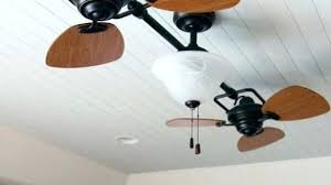 double headed ceiling fan contemporary fans with lights for rotating prepare harbor breeze dual head