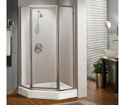 maax silhouette na 38 in x 70 in shower door in polished chrome