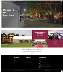 Marquee Website Design Elite Marquees Specializes In Marquee And Tent Hire Tent