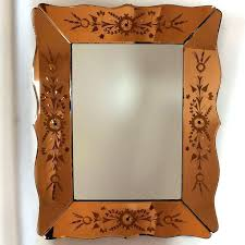 decorating small mercury glass picture frames