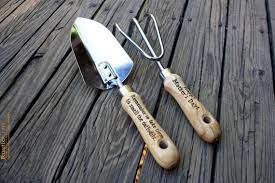 personalized garden tool set hand