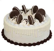 oreo cream delight cookie cake