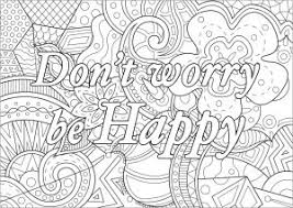 411 free coloring pages for adults that you can download and print. Positive And Inspiring Quotes Coloring Pages For Adults