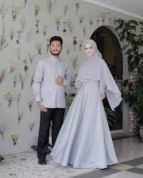 Biasanya sih yang paling ribet dari pihak cewek, karena dia paling paham soal bahan dan model baju couple kekinian, baju. Baju Kondangan Couple Terbaru 2020 Zenata Couple Baju Couple Gamis Kemeja Terbaru Baju Kondangan Kekinian Baju Lazada Indonesia