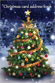 Christmas Cards Images Christmas Card Address Book An Address Book And Tracker For The