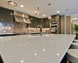 white stone kitchen countertops. Simple Countertops Sparkle White Polished Quartz Countertop For Kitchen Countertops To Stone