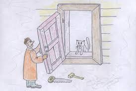 Сделать окно в стене из бруса Разговоры с Семенычем на  Двери окна
