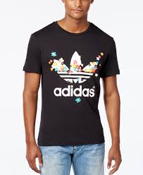 Adidas Mens Shirt Size Chart A T Shirt In Floral Graphics Designed By Pharrell Williams
