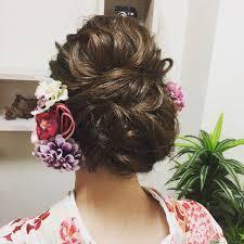 結婚式のお呼ばれヘアスタイル イトマンスタジオベル