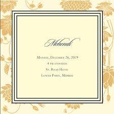 Online Editable Indian Wedding Invitation Cards Free