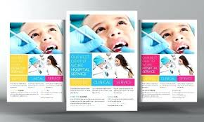 Advertising Flyers Samples Dental Advertisement Templates Template Meaning In Flyers
