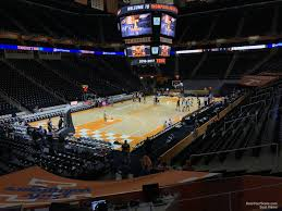 Thompson Boling Arena Section 110 Rateyourseats Com