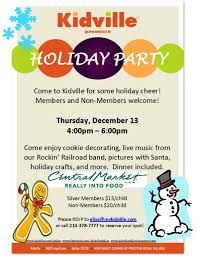 kidville holiday party