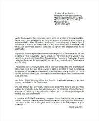 Recommendation Letter For Student Scholarship Recommendation Letter For Graduate School From Professor Elegant