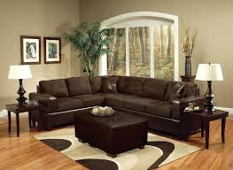dark furniture living room paint colors for walls with that go chocolate brown leather sofa decorating ideas what color wood sitting