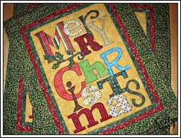 Christmas wallhanging. The Art to Heart books are great. | A Quilt ... & Christmas wallhanging. The Art to Heart books are great. Adamdwight.com