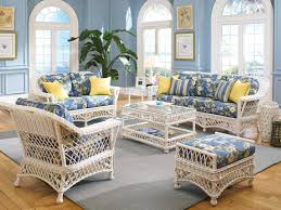 white beach furniture. Catchy Indoor Beach Furniture Bar Harbor Wicker Collection For Your Seaside Cottage White E
