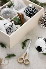 Weihnachtskugeln Marmorieren Zwoste