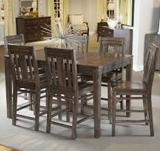 seven piece dining set: seven piece casual counter height dining set