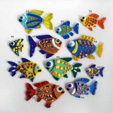 fused glass decoration small fish