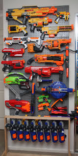 Hang a wire rack on your wall using screws, anchors, or other attachments depending on the wall material. Pin On Nerf Diy